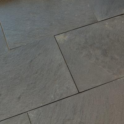 Dallage en pierre Quartzite