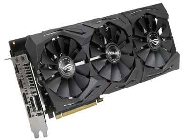 Carte graphique Asus STRIX-RX580-O8G
