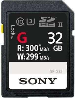 SONY Carte SDHC USH-II Série
