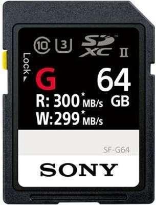 SONY Carte SDXC USH-II Série