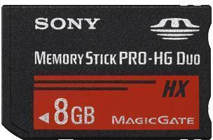 SONY Carte Memory Stick Pro-HG