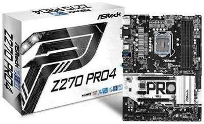 ASROCK Carte mère Z270 Pro4