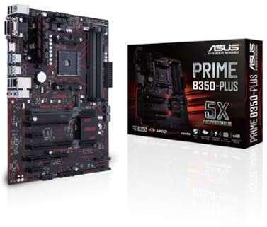 ASUS Carte mère AMD PRME B350-PLUS