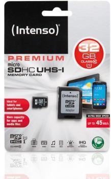 Carte micro SD 32 GB Classe