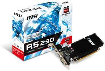 MS Radeon R5 230 1GD3H Fanless