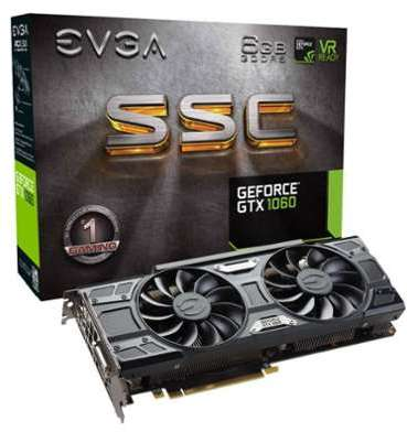 EVGA GeForce GTX 1060 SSC