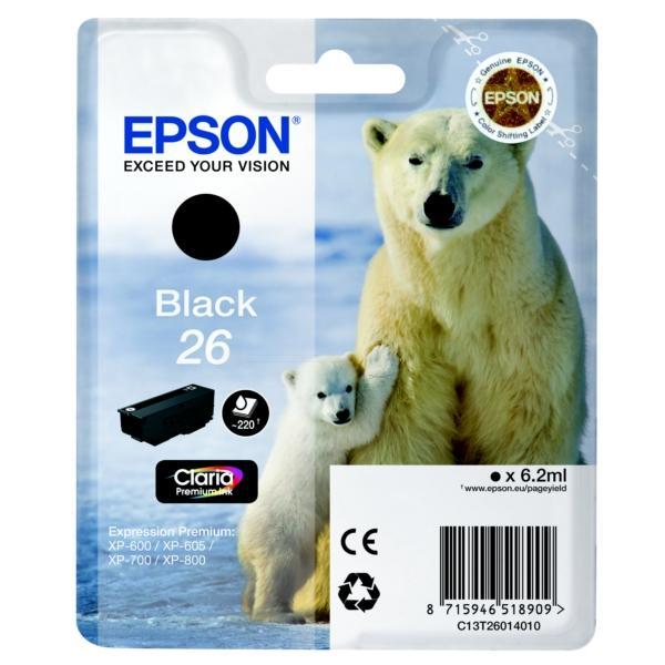 ORIGINAL Epson C13T26014010