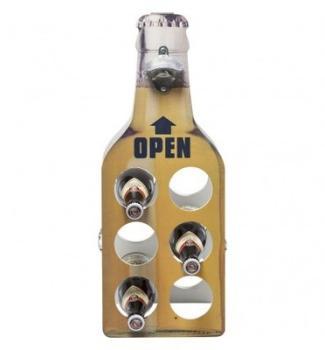 Porte bouteille en acier galvanisé