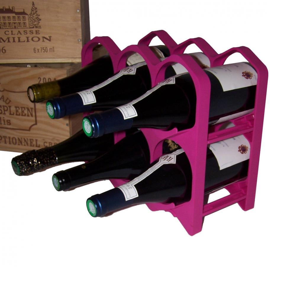 Casiers 6 bouteilles - Bordeaux