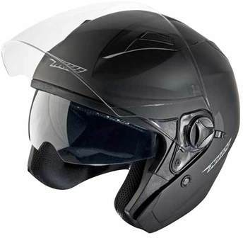 Casque moto NOX N124 Noir