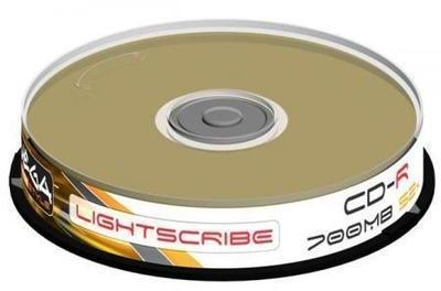 CD-R 80 700Mo 52x OMEGA LightScribe