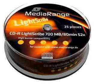 CD-R LightScribe 700MB 80min