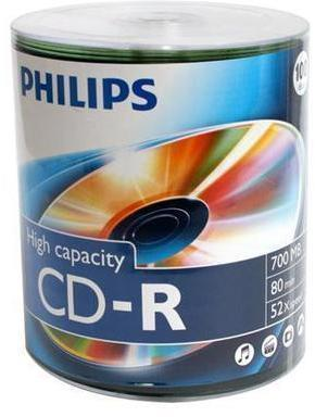 CD-R 80 700 Mo 52x Philips