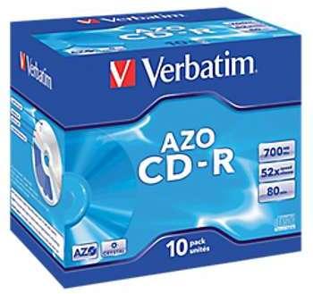 10 CD-R - Verbatim - 700 Mo