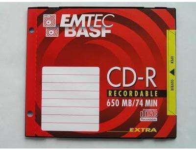 EMTEC-BASF CD-R 74 650MO en