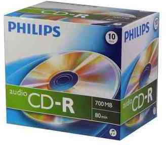 CD-R 80 700Mo Digital-Audio