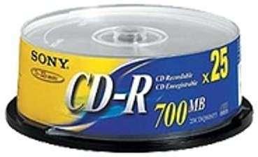 CD-R 700 Mo vitesse 48x spindle