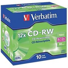 CD-RW réinscriptible Verbatim