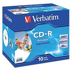 CD-R enregistrable Verbatim