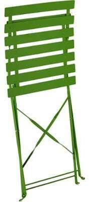 Chaise de jardin pliante verte
