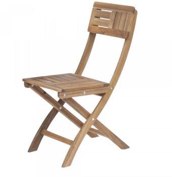 Chaise de jardin pliante en