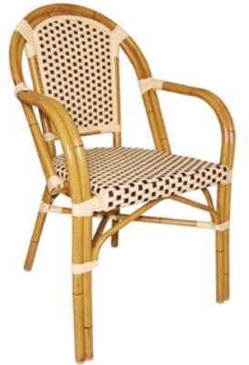 Lot de 4 fauteuils continental