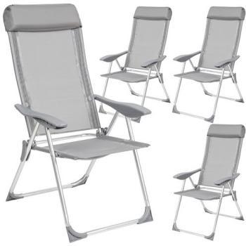 4 Chaises de Jardin de Camping