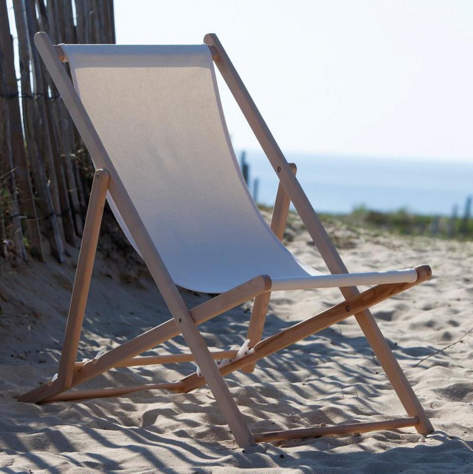 Catgorie chaise de jardin du guide et comparateur d 39 achat for Transat bois pliant