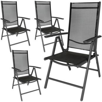 4 Chaises de Camping avec