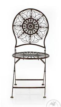 Chaise de jardin Ronde Fleurs