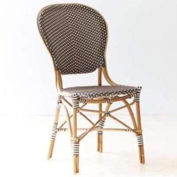 Chaise de jardin en rotin