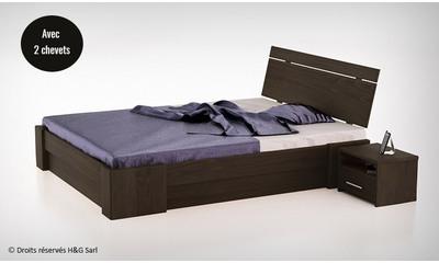 lit coffre bois massif maison design. Black Bedroom Furniture Sets. Home Design Ideas