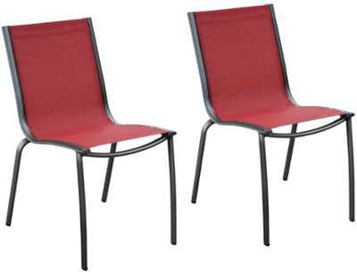 Rendez table dappoint bee dia 45 zuiver - Chaise de jardin rouge ...