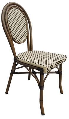 CRO-F1201C-M Chaise rotin
