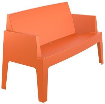 Banc de jardin PLEMO XL orange