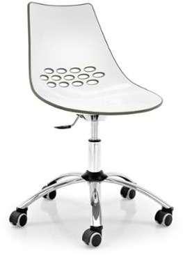Chaise de Bureau Jam Chromé