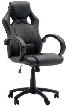 Chaise de bureau gamer noir