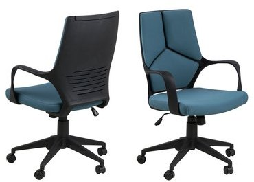 Chaise de Bureau Dublin Bleu