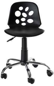 Chaise de bureau enfant noire