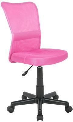 Chaise de bureau rose H-298F