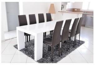 Table Console Extensible Laquée