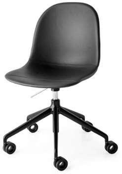 Chaise Academy Pivotante Noir