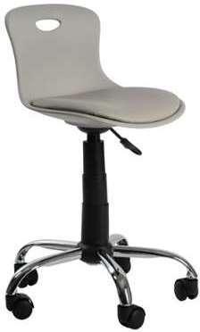 Chaise de bureau enfant grise