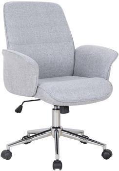 Chaise de bureau gris 0704M