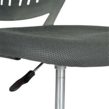 Chaise de bureau enfant gris