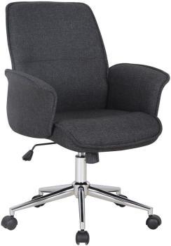 Chaise de bureau noir 0704M