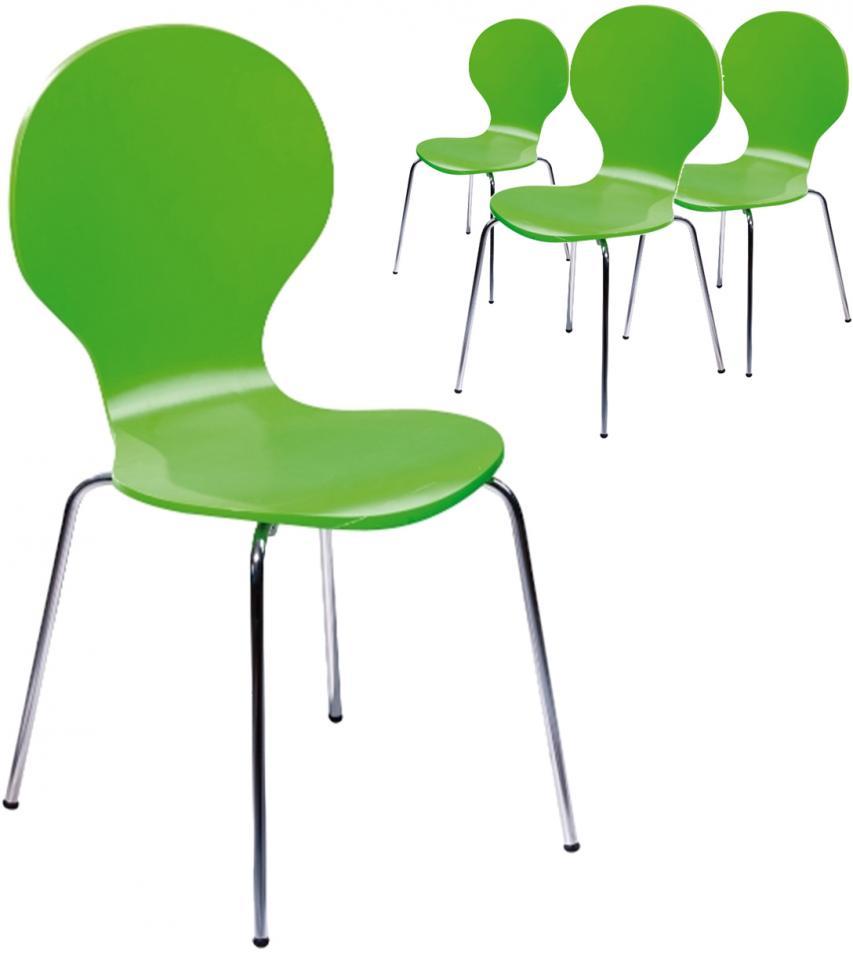 Soldes - Lot de 4 chaises