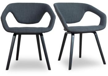 Lot de 2 fauteuils design