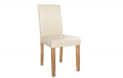 Lot de 4 chaises en simili