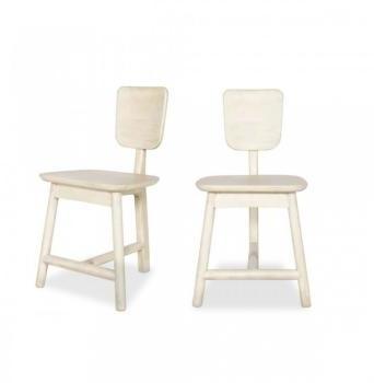 Lot de 2 chaises 3 pieds en